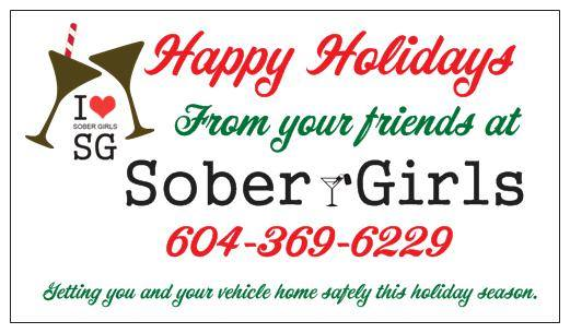 Happy Holidays From Your Designated Drivers