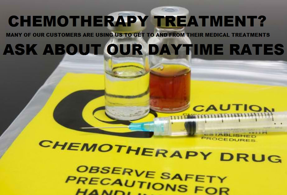 Designated Drivers for Chemotherapy Treatment and Day Surgery