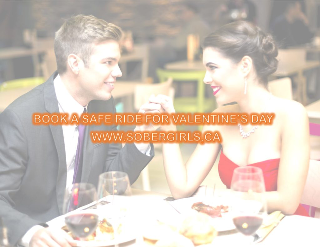 Valentine's Day Designated Driver Promotion